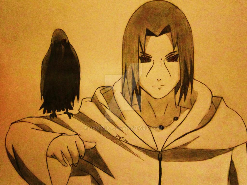 itachi uchiha drawings