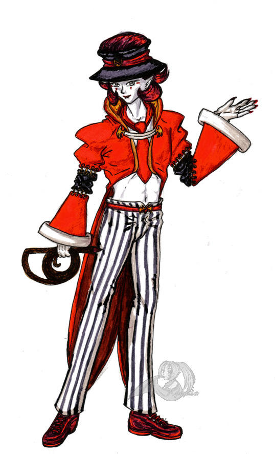 Clown: Ring Master by Penthious on DeviantArt