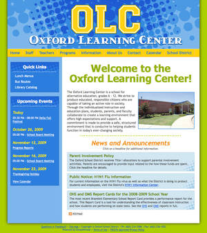 Oxford Learning Center Website