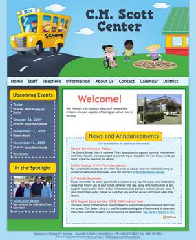 Scott Center Website