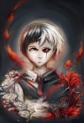 Tokyo Ghoul: Kaneki Ken by jas7229