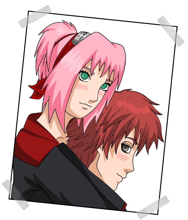 Sakura in akatsuki with sasori by sakura89sasori on deviantart - Sasori akatsuki ...