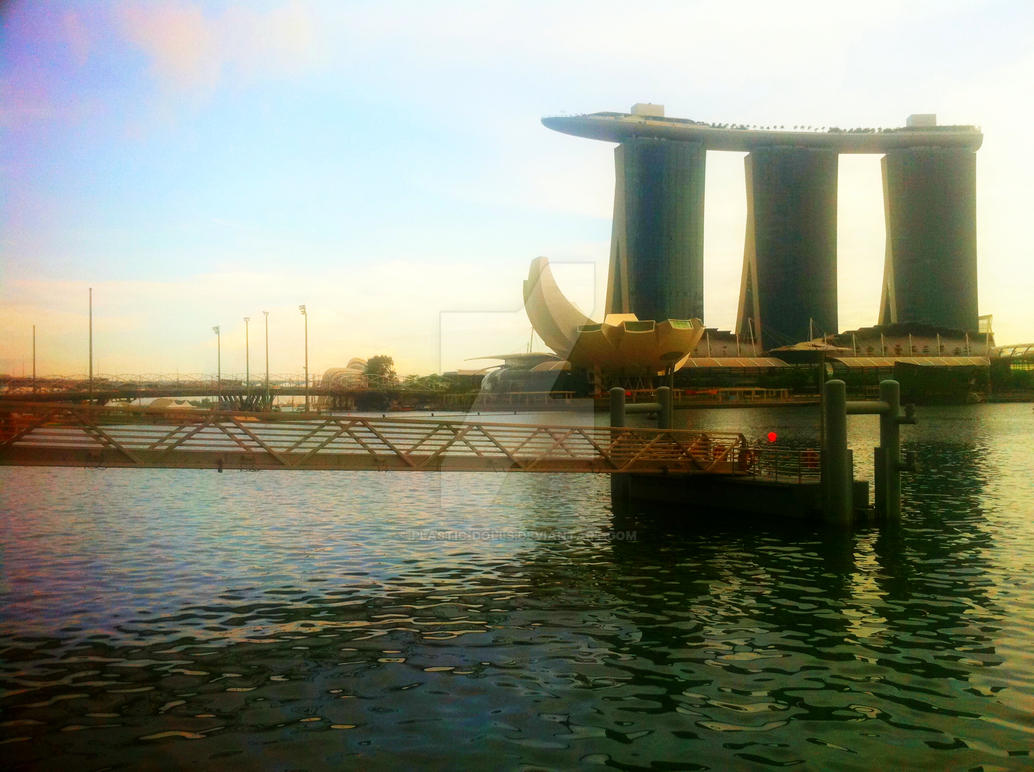 Marina Bay Sands // Early Evening by Plastic-Dolls