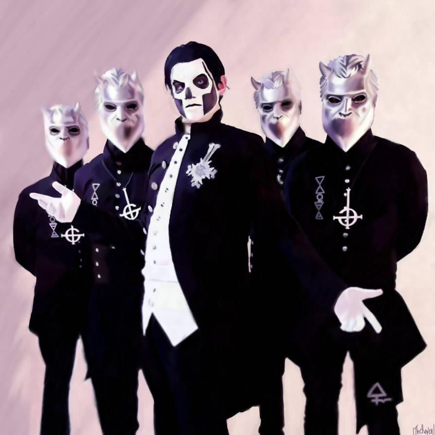 Tribute Band Ghost Ad By Square Hammer On Deviantart