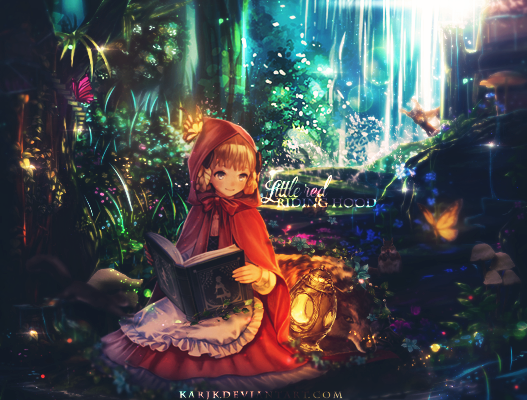 [karindeviant] Little red riding hood by KarJK on DeviantArt