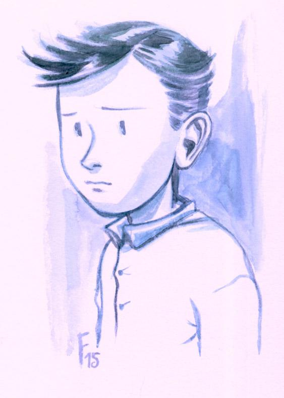 Mon petit Bleu... by Fredgri
