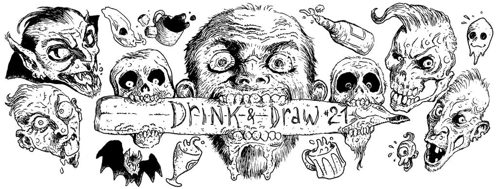 Drink and draw 21 a Dijon by Fredgri