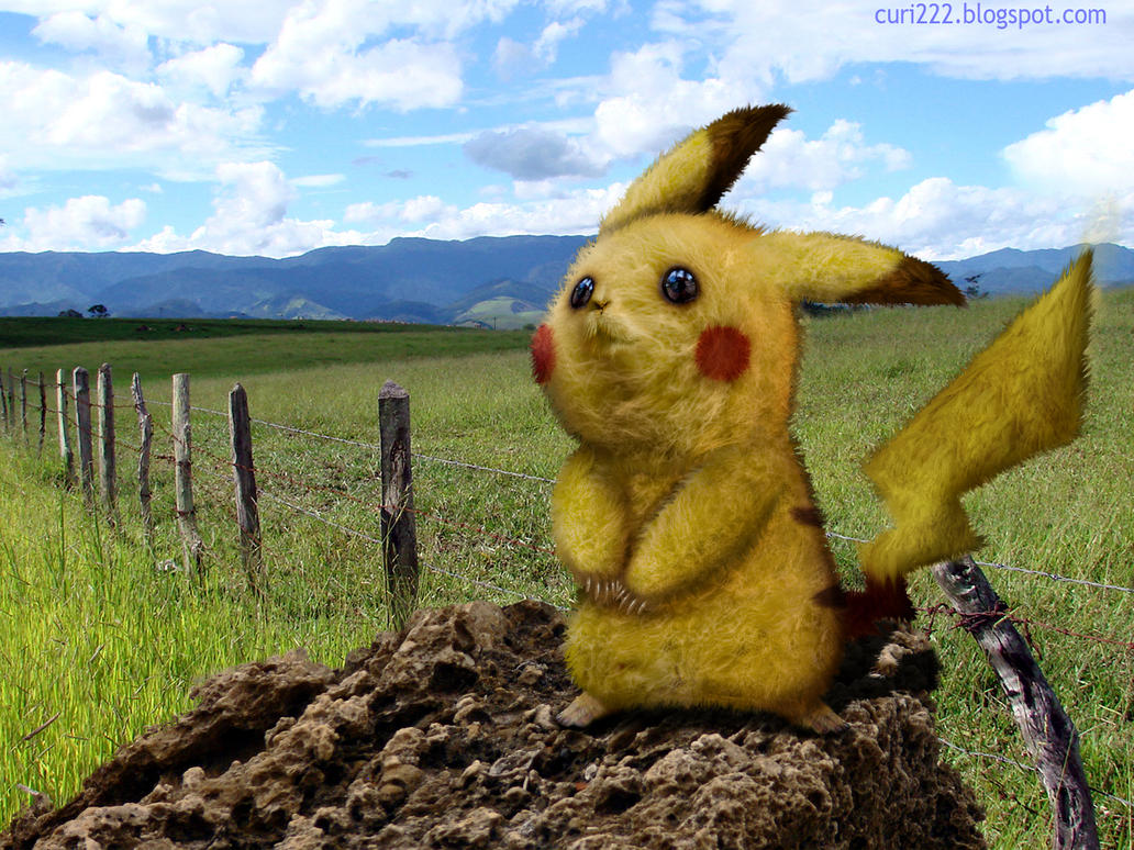 Pikachu Untooned Papiel by curi222