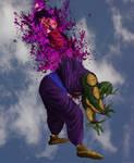 Goku Vs Piccolo B1 untooned