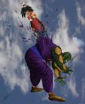 Goku VS Piccolo NoB untooned