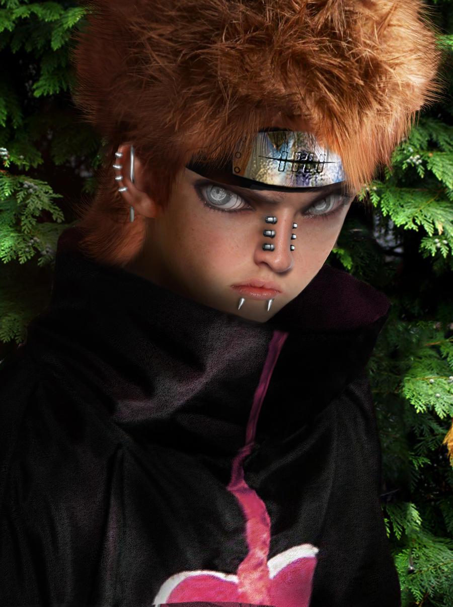 Papiel Pain Naruto Untooned by curi222
