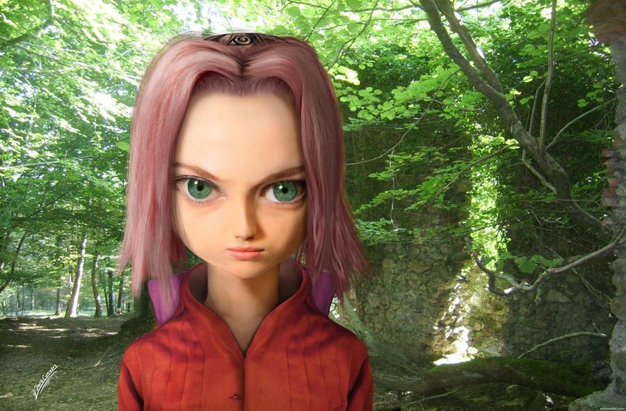Sakura na vida real