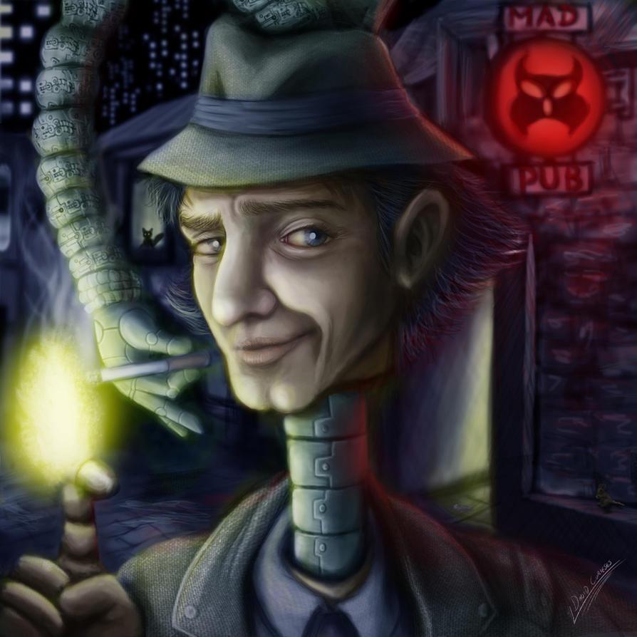 Inspector Gadget: SMOKING by curi222