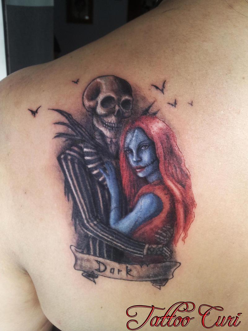 Nightmare Before Christmas Tattoo Drawing, 40 Nightmare Before ...