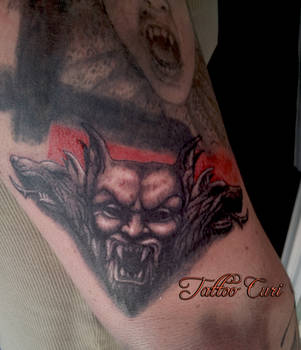 Dracula Tattoo by curi222