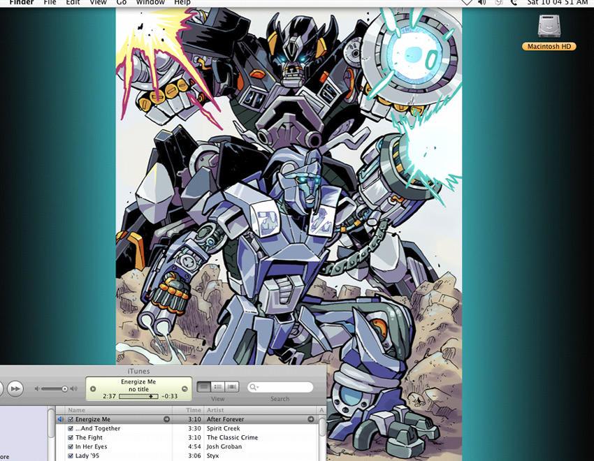 Ironhide + Chromia Desktop 09