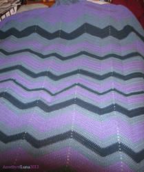 Cool Shades Waves Blanket by shiribot