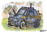 Fiat 500 comic concept by argentinor