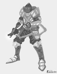 Speedpaint - fictional military V2