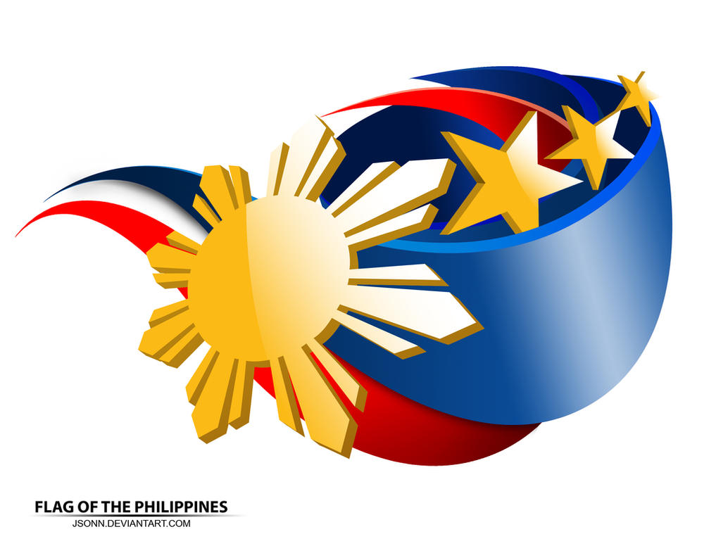 Flag of the Philippines by jsonn on DeviantArt