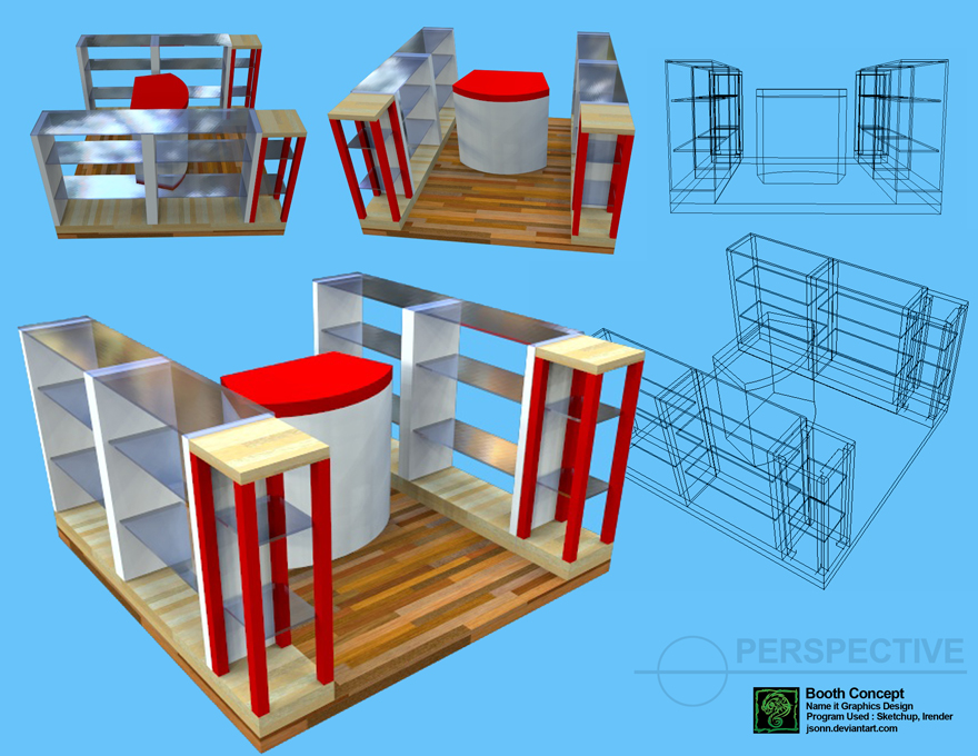 simple booth designs by jsonn on deviantart
