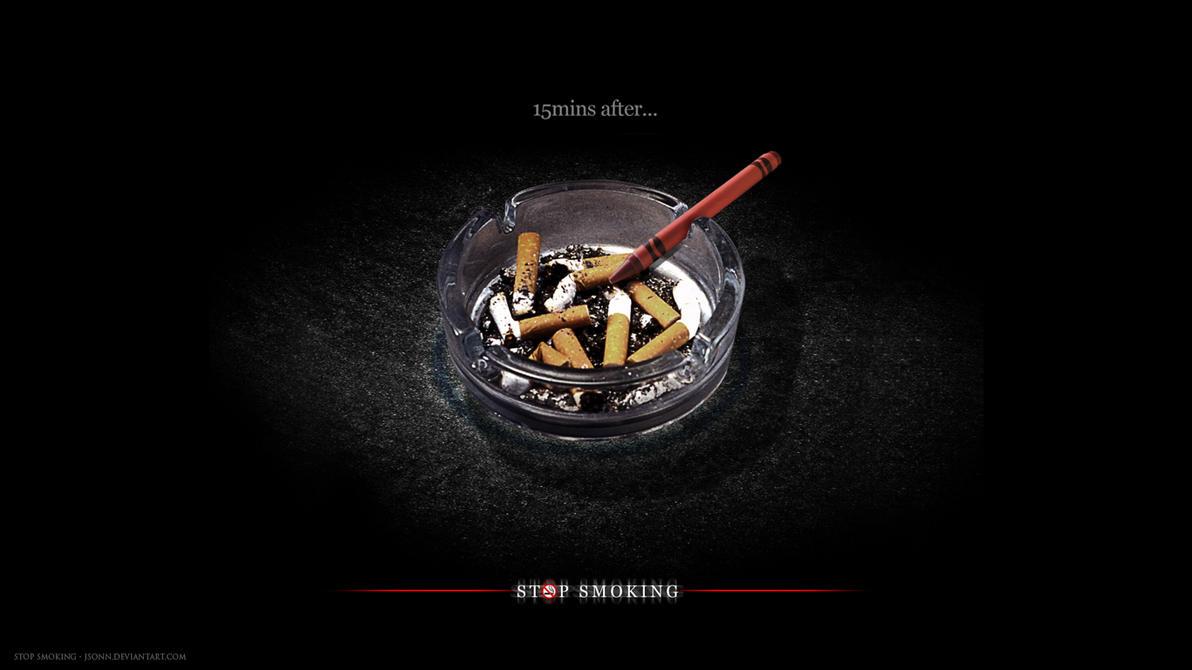 Stop Smoking Wallpaper By Jsonn