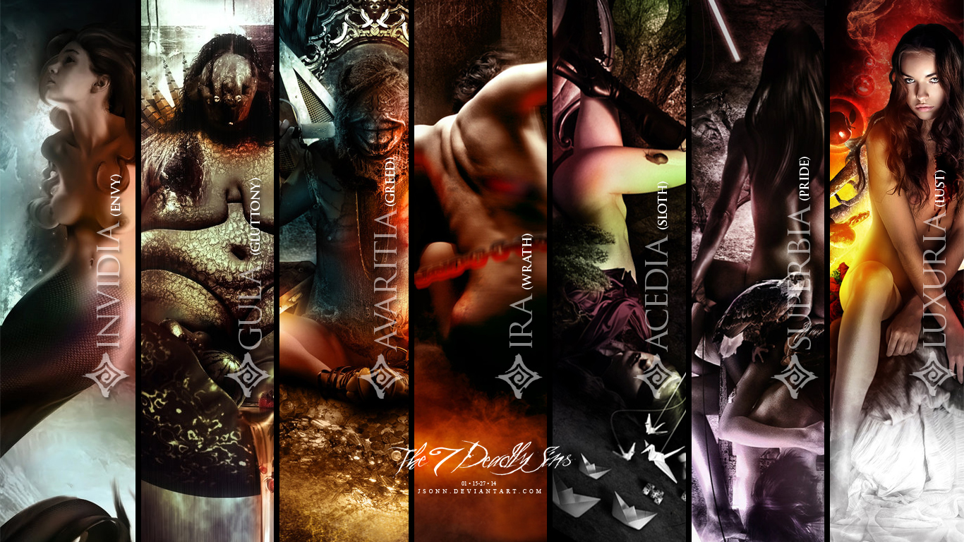 7 Deadly Sins Wallpaper by jsonn