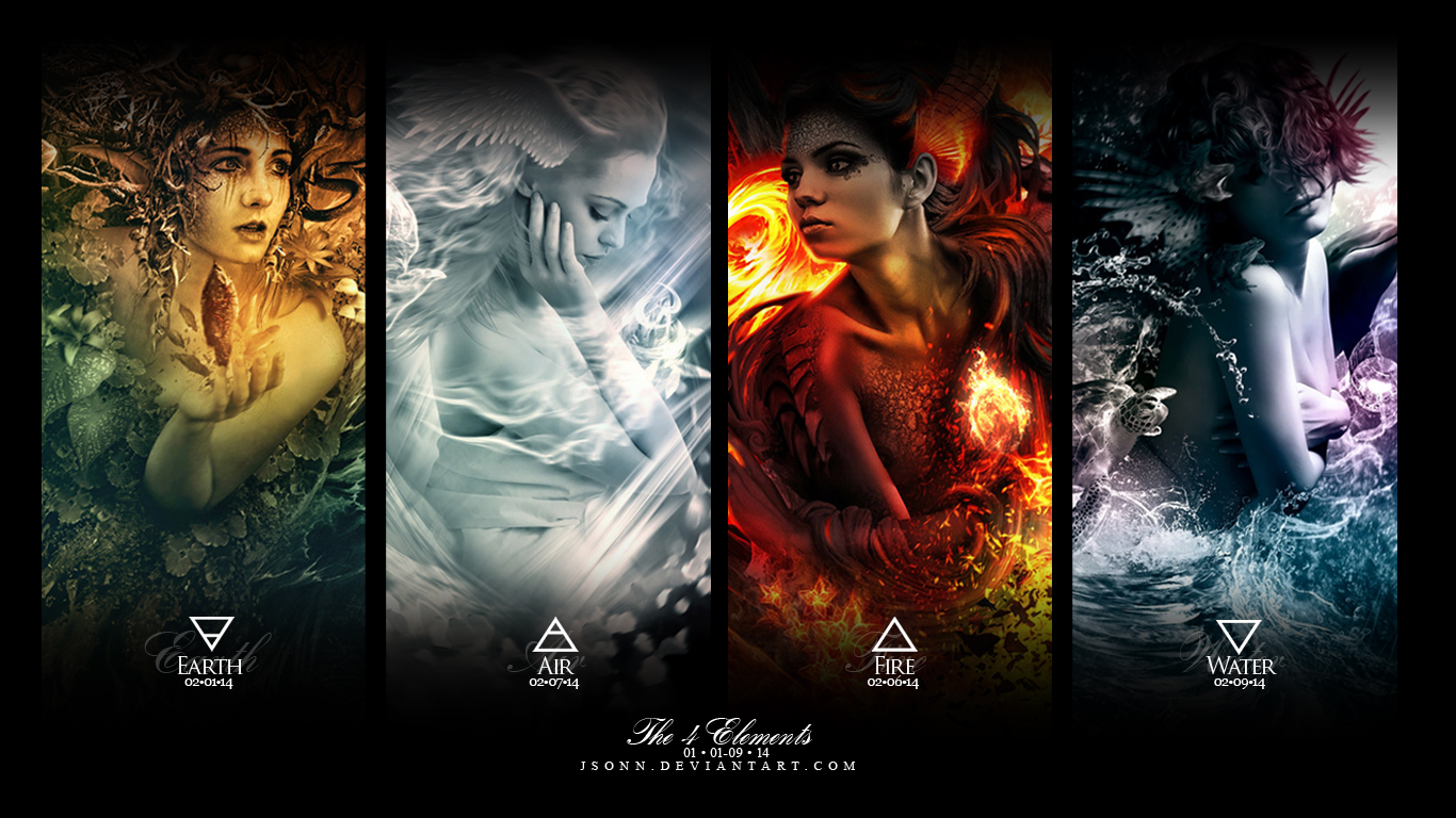 FIVE ELEMENTS  3D and CG amp Abstract Background Wallpapers