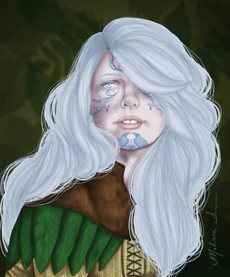 Shyilia portrait by Shiovra