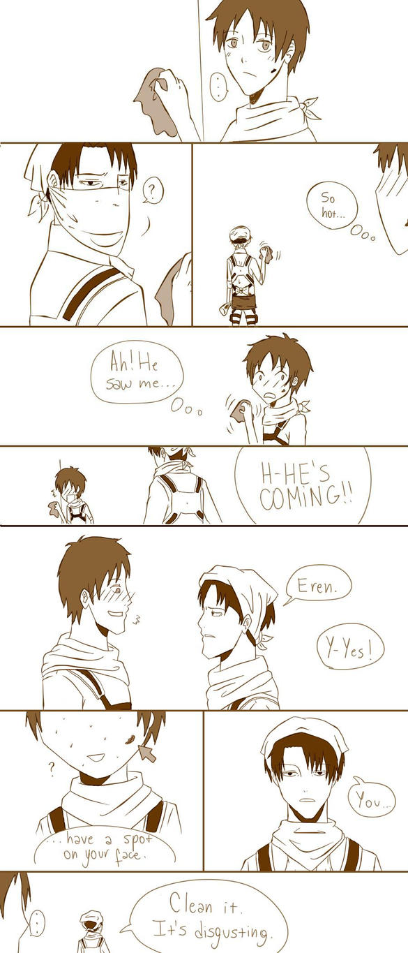 Shingeki No Kyojin Comic by Mizalok