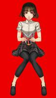 makoto niijima - summer uniform ver