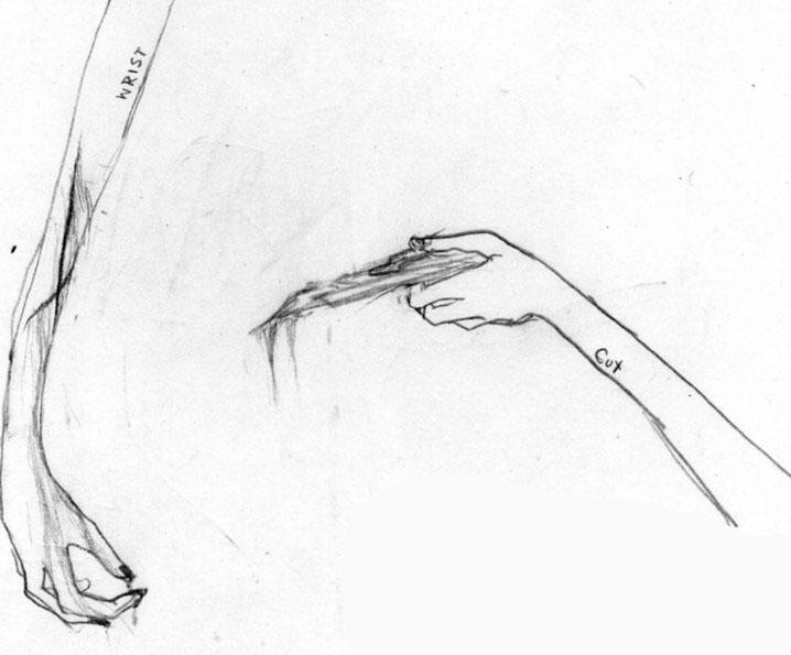 Wrist Cut by cateye2094 on DeviantArt