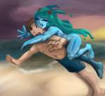 Request - Mega and Nona by Asteru
