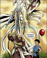 Harbinger vs. Balloon by CreationMatrix