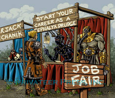 Iron Kingdom's Job Fair by CreationMatrix