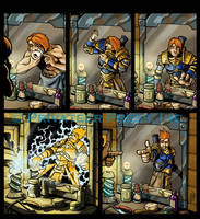 Stryker's Morning Routine by CreationMatrix