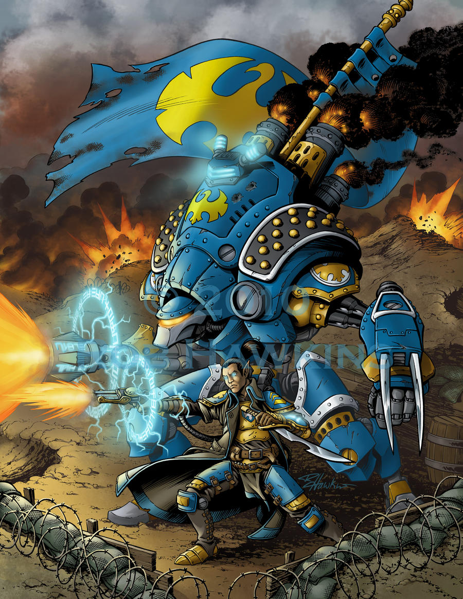 Warmachine by CreationMatrix