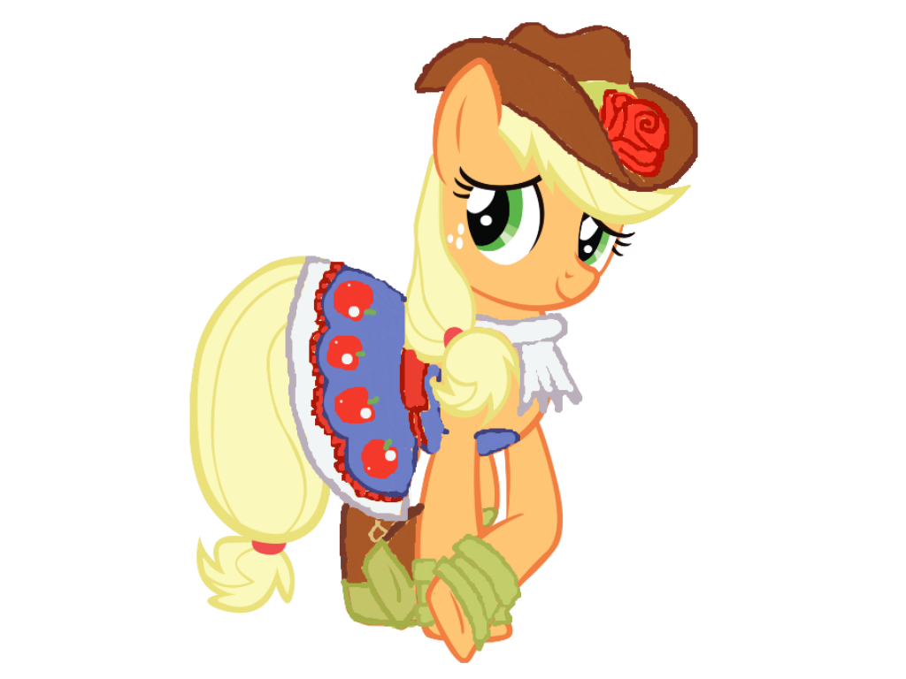 Applejack - Fall formal Dress by YSBrony2000