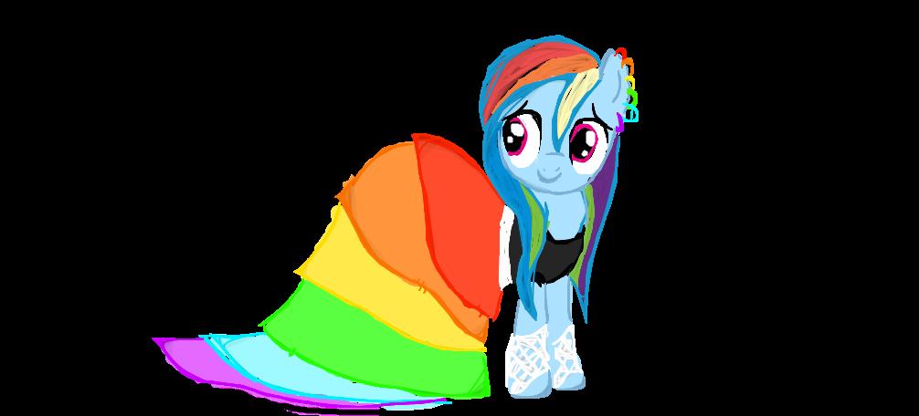 rainbow dash gala dress - photo #18