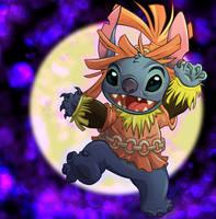 Skull Stitch by Mazzy-elf