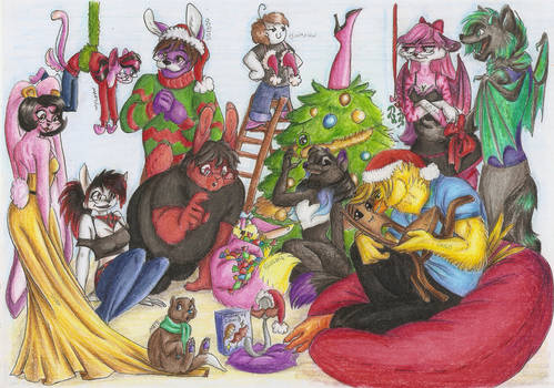 Fabulous Christmas Group Reunion - Collab