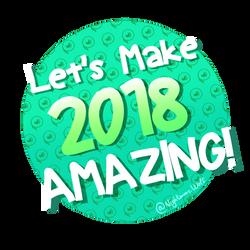 Happy 2018!! by NigthmareWolf