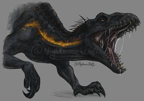 Indoraptor by NigthmareWolf