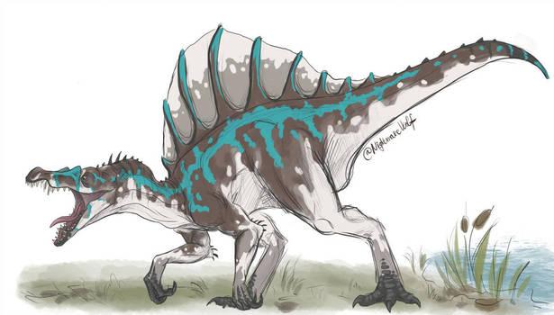 Spinosaurus color concept