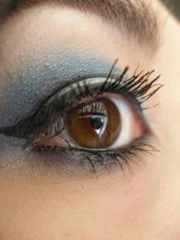 Blue 1 eye stock