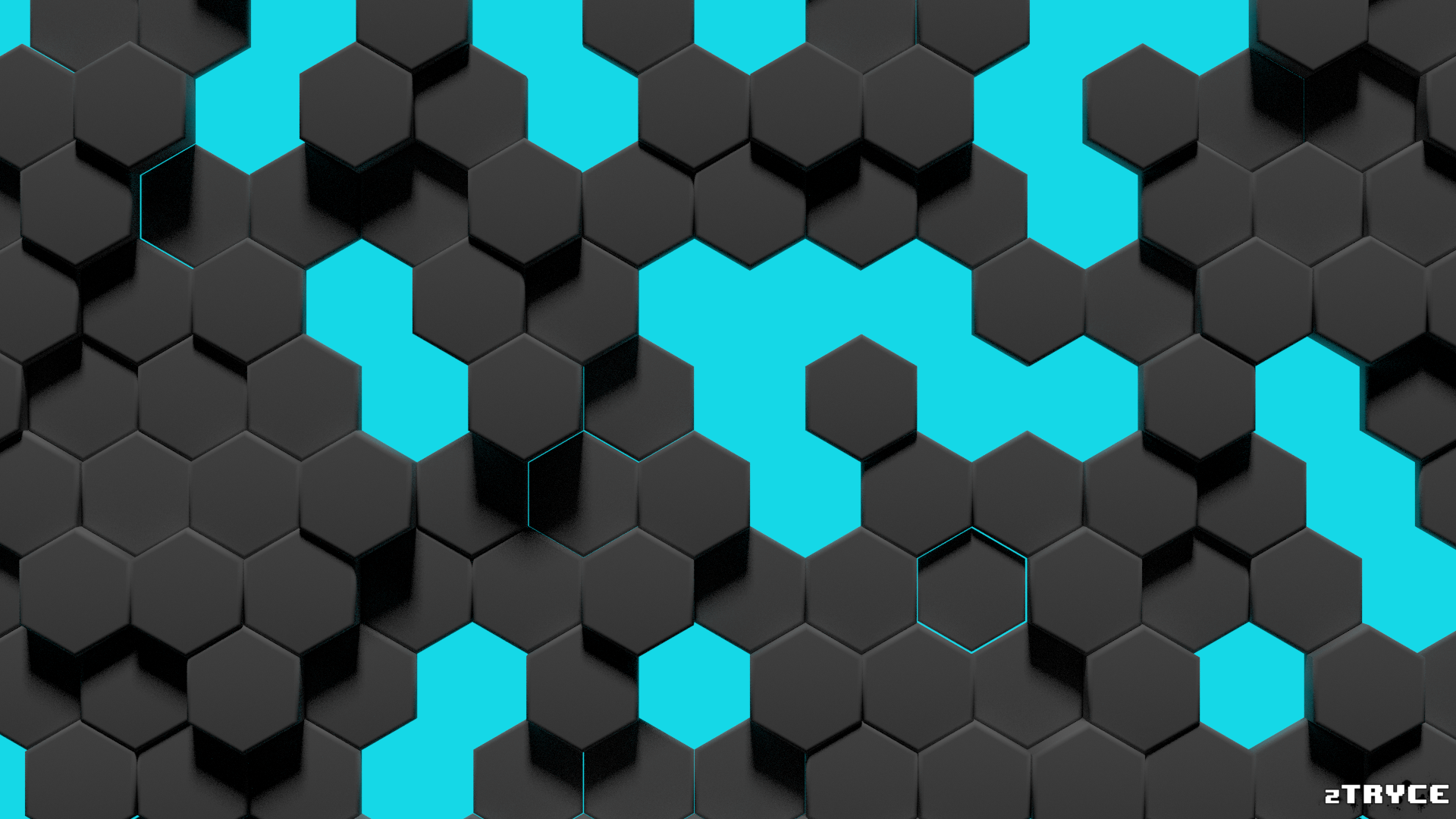 hexagon wallpaper 1080p perspective by ztryce on