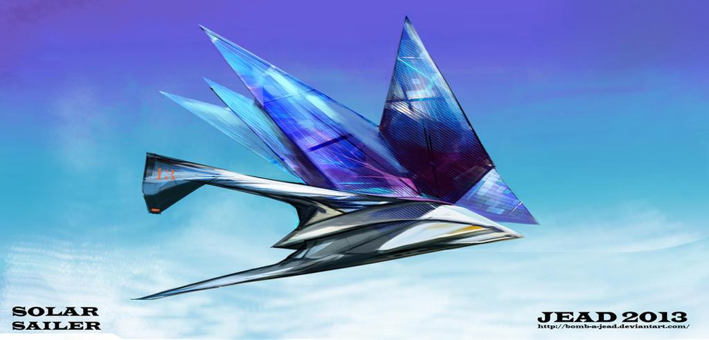 Solar sailer by Bomb-a-Jead