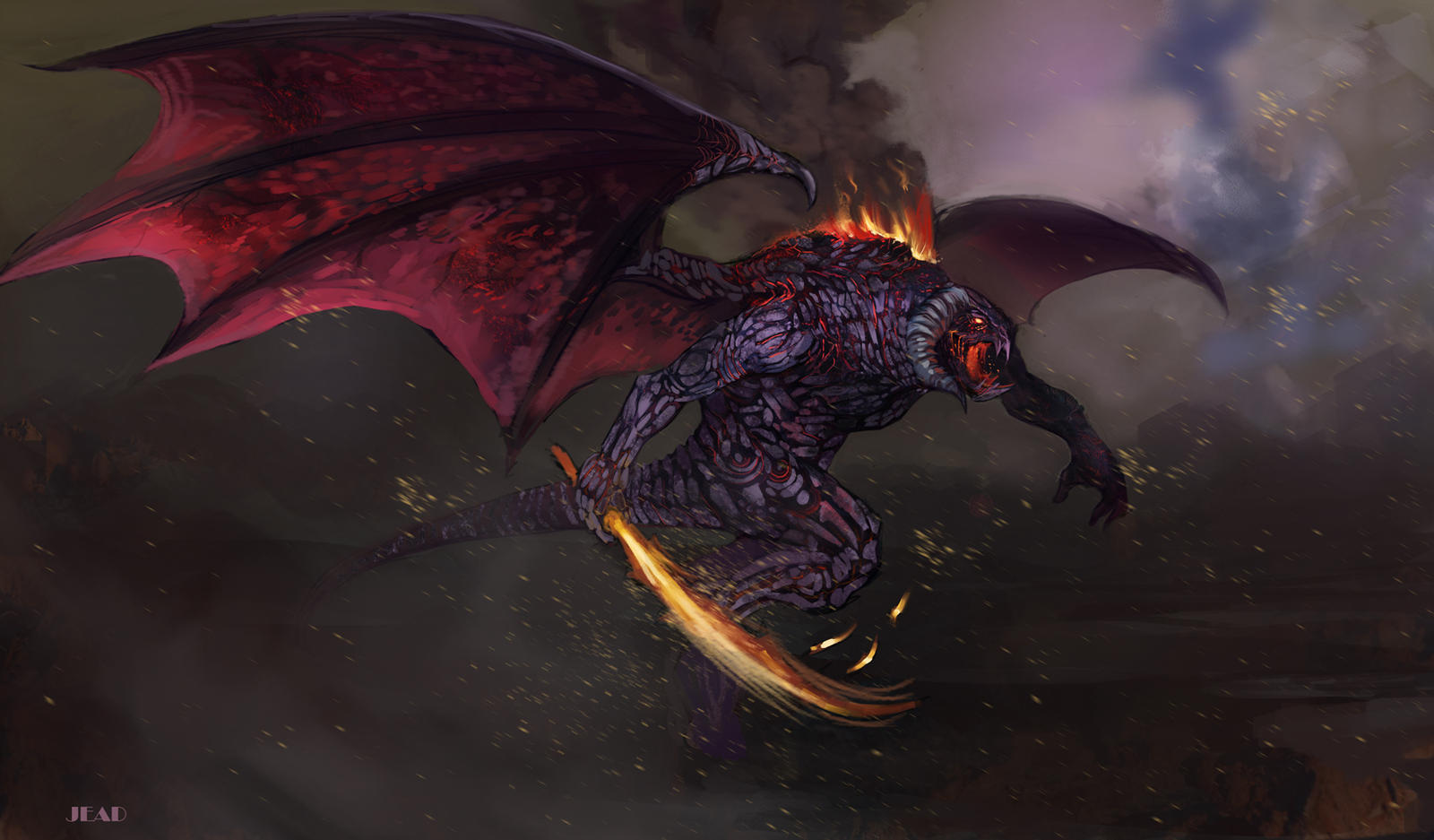 Balrog Concept Art Related Keywords Suggestions Balrog Concept