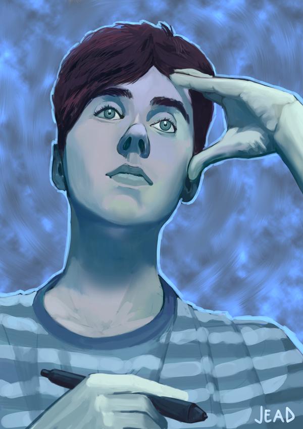 Self-portrait by Bomb-a-Jead