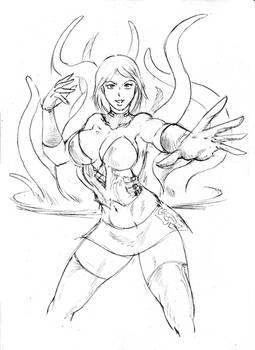 Mistress Afterlife Quick Sketch